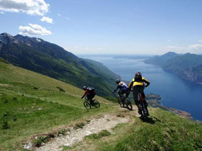 Mountain bike a Malcesine